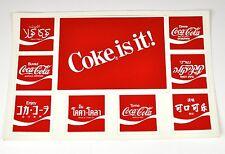 Coca cola Coca cola 9 Adesivo USA Cartolina adesivo Paesi Loghi Decalcomania