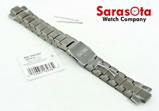 Original New Seiko Solar SSC393 Black Titanium Two Tone Watch Bracelet 22mm