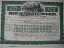 Danbury and Norwalk Railroad Company    5000$