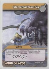 2009 Dinosaur King Trading Card Game #DKBD-046 Elemental Team-Up Gaming 1i3