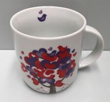 "GENERIC "" LOVE HEARTS ""  HANDLED COFFEE CUP MUG 370ML VALENTINES DAY"