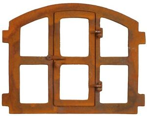 Stallfenster Fenster zum öffnen Scheunenfenster Eisenfenster 51cm im Antik-Stil