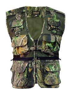 Stormkloth Hunting Fishing Outdoor Camouflage Vest Waistcoat Men's Half Jacket