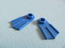 LEGO 2599 @@ Minifig, Footgear Flipper @@ BLUE @@ BLEU