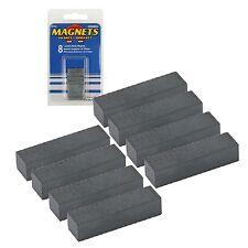 8 starke Magnete, rechteckige Form, Blockmagnet, Magnet, Keramikmagnet, Keramik