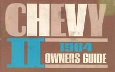 1964 Chevrolet Chevy II Owner's Manual OH153-DQLY8W