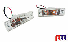 Mazda 323 Front Bar Light Lamp Crystal Lens (PAIR) 80-89 BD1051/2, BF1061/2