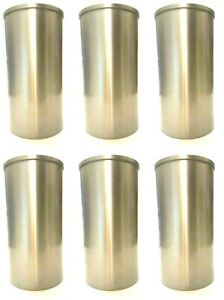 6 CYLINDER LINER SLEEVES ID 82.00 x OD 86.00 mm - GET IT FAST