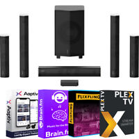 Enclave CineHome Pro 5.1 Wireless Home Theater Surround Sound + Audio Essentials