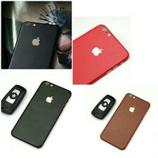 Textured Leather Skin Vinyl Wrap Sticker Decal Case Cover For All iPhone