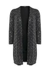 Evans Silver Sparkle Dot Kimono Cover up Jacket Top - BNWT - Plus Size 26/28