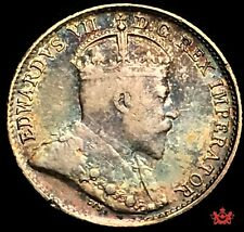 1905 Canada 5 cents - VF/EF - Multicolor Toning Lot#1039
