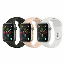 Reloj de la serie 4 40mm de Apple-Gps-Gris espacial-Banda Negra Sport