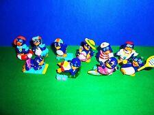 KINDER PINGUINI BEACH Serie Completa Senza cartine