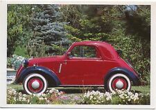 Fiat Topolino 1936 MODERN postcard issued by Taschen