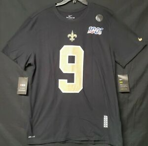 New Orleans Saints Drew Brees Nike Name and Number T-Shirt Adult XL CLEARANCE