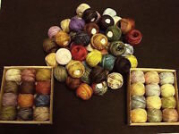 10% Off One Valdani Hand-dyed 100% Cotton 3-Strand Floss #O12 to #O5430