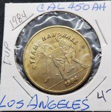 New listing 1984 Olympic Token ~ Team Handball ~ Los Angeles California ~ Ca450Ah