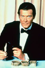 Roger Moore 11x17 Mini Poster Octopussy 007 in bullets