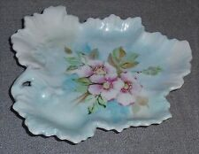 WG & CO Limoges LEAF SHAPED NUT/TRINKET DISH Made in France