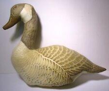 "12"" Canada Goose Soft Stuffed Cloth Animal Bird Figure Hunting Decor Pillow"