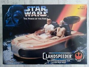 Star Wars: 1995 'POTF' Landspeeder - Kenner
