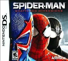 Spider-Man: Shattered Dimensions - Nintendo DS Game Case And Booklet
