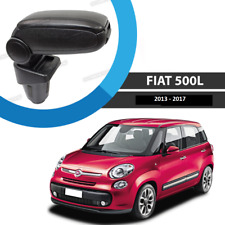 FIAT 500L BLACK LEATHERETTE ARMREST CONSOLE FOR 2013 > MODELS EASY APPLY