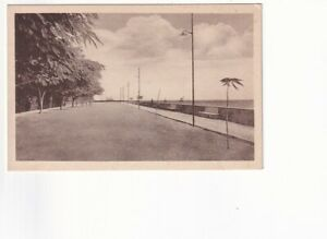 An Early Bilhete Postal of Another view of Marginal Avenue. Beira. Mozambique
