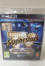 SUPERSTARS TV FACCE DA REALITY PLAY STATION 3 NUOVO