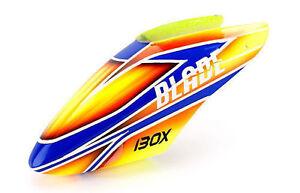 New Blade 130 X Fiberglass Canopy Orange BLH3722D