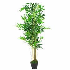 Leaf Design UK Large Artificial Bamboo Indoor House Plant - XL Fat or Natural...