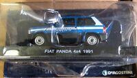 """DIE CAST """" FIAT PANDA 4X4 1991 """" POLIZIA SCALA 1/43"""