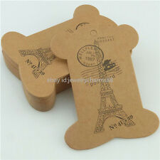 10PCS Tower Paper Card Packaging Bobbin Spool Sewing For Ribbon Thread Handmade