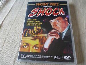 Shock (DVD) Region 4  Vincent Price, Lynn Bari