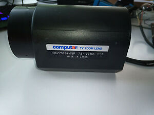 "Computar 1/2"" 7.5-120mm f1.6 16X Zoom Lens H16Z7516AMSP Ultra High Quality"