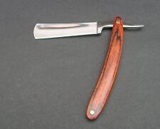 1pcs Wood Hand Straight Edge Stainless Steel Barber Razor Folding Shaving XY709