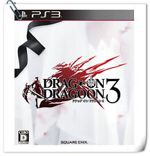 PS3 Drag-On Dragoon 3 SONY PlayStation Action RPG Games Square Enix