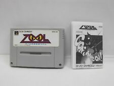 SNES -- ZOOL no YUME BOKEN Bouken -- Super famicom. Japan game. Work fully 14305