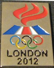 London 2012 rare ICELAND Olympic NOC TEAM Delegation dated pin