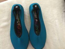 Arcopedico Women's comfort slip on Lolita Turquoise size 8.5 US