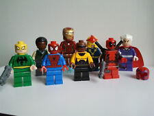 Lego Marvel Deadpool sh032 Nova sh051 Iron Fist sh041 Magneto sh119 Power Man