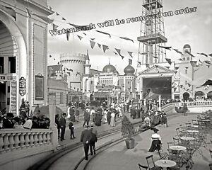 Vintage Photo of New York Coney Island Dreamland  Year 1905  8x10