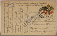 POSTA MILITARE 49^ DIVISIONE  2.7.1917 #XP298A