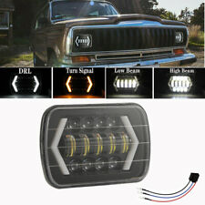 "7''x6'' 5X7"" LED Headlight Headlamp For Toyota Hilux 88-97 Jeep Cherokee XJ YJ"