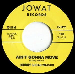 JOHNNY GUITAR WATSON   AINT GONNA MOVE  Soul Northern Motown