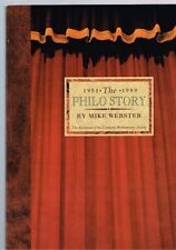 The Philo Story 1951-1989 Evolution Canberra Philharmonic Society - Mike Webster