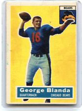 1956 TOPPS FOOTBALL #11 GEORGE BLANDA, CHICAGO BEARS, KENTUCKY, HOF, 070816