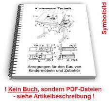 Kindermöbel selbst bauen - Technik Kinder Möbel Patente Patentschriften
