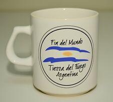Tierra del Fuego mug Argentina Fin del Mundo South America travel